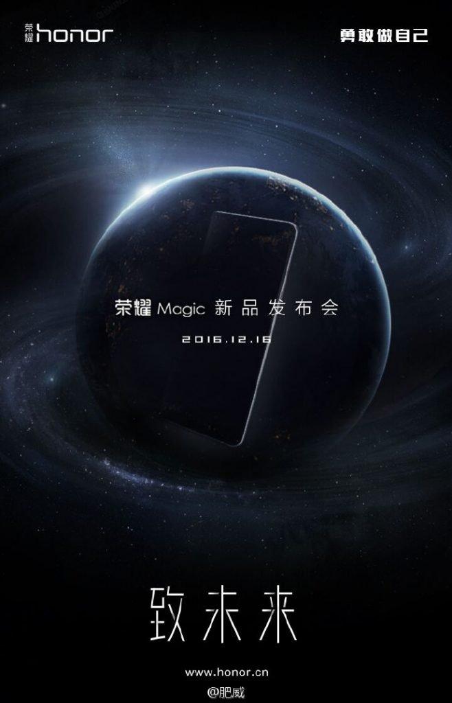 huawei honor magic teaser