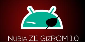 nubia Z11 GizROM 1.0
