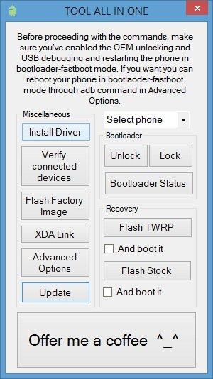 tool ZUK OnePlus Nexus