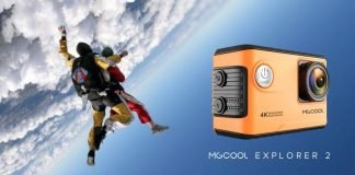 mgcool explorer 2 action cam 4k