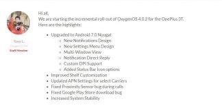 OnePlus 3 3T OxygenOS 4.0.2
