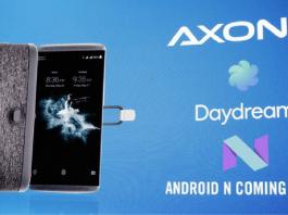 ZTE Axon 7 Android 7.0 Nougat