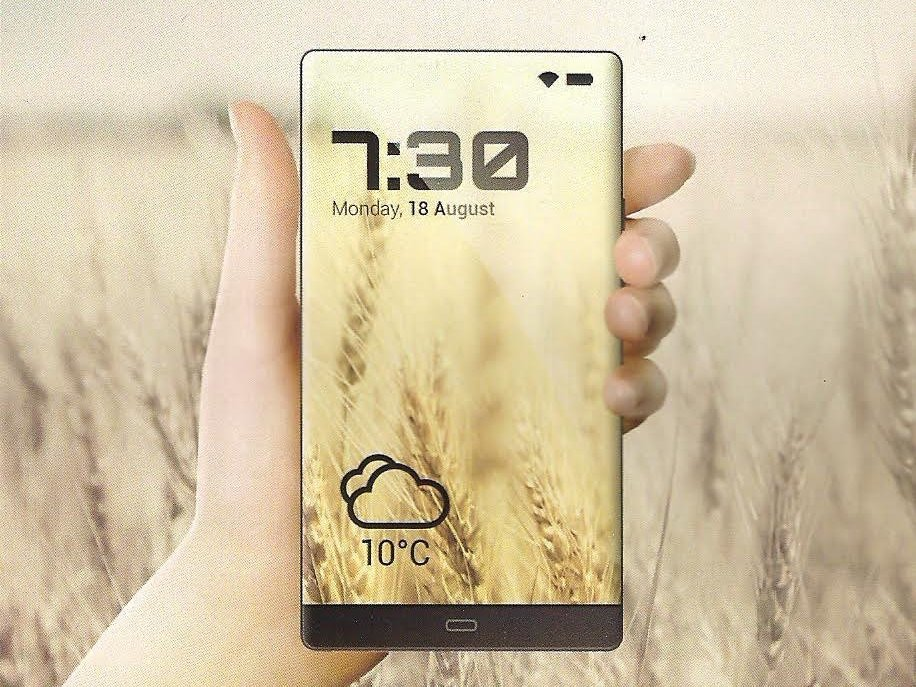 Allview smartphone edge-to-edge