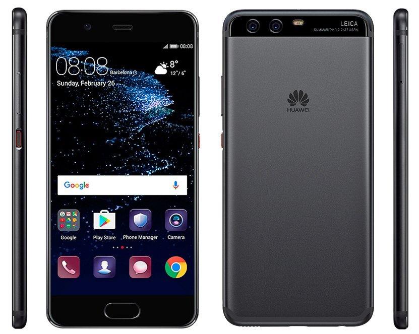 Huawei P10 render evleaks