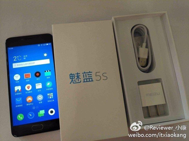 Meizu M5S foto leaked