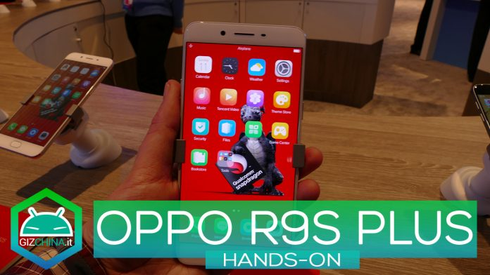 OPPO R9S Plus MWC 2017