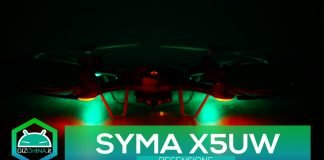 Syma X5UW recensione