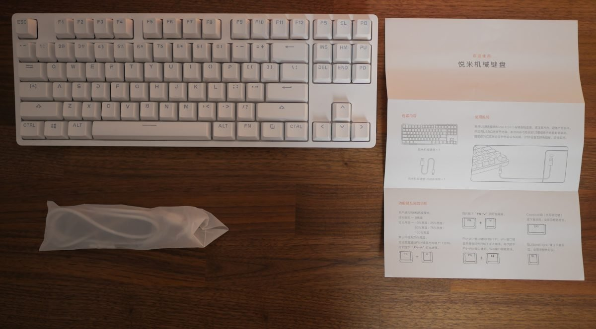 Review Xiaomi Yuemi Mk01 Mechanical Keyboard Small But With Great Qualities