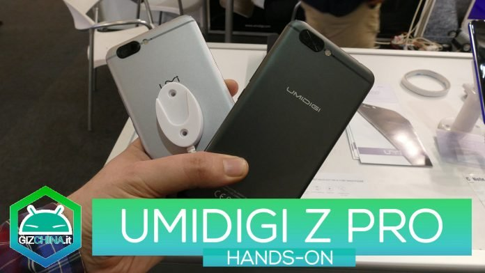 HUMEDAD Z PRO HANDS-ON MWC 2017