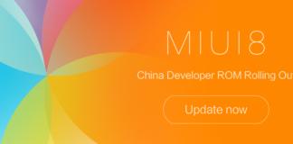 Xiaomi MIUI 8 China Desarrollador 7.2.9