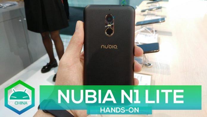 nubia N1 lite MWC 2017