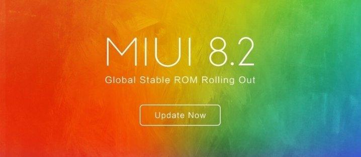 Xiaomi MIUI 8.2 Globalna stabilna Xiaomi Redmi Note 4X