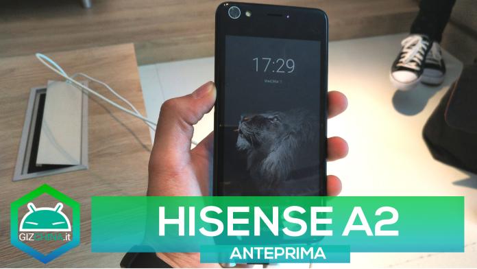 HISENSE A2 MWC 2017