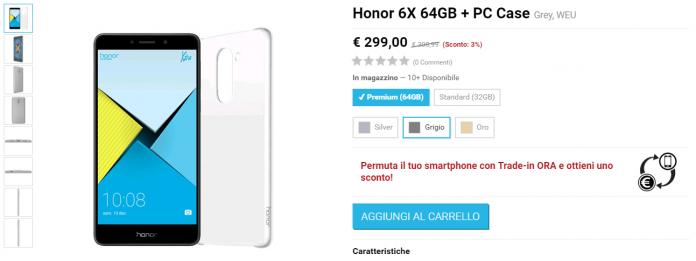 Honor 6X vMall