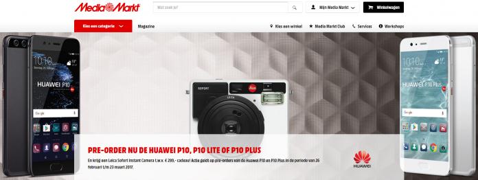 huawei p10 preordine