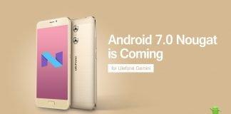 Ulefone Gemini Android 7.0 Nougat