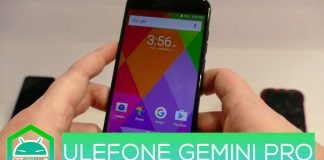 Ulefone Gemini Pro hands-on MWC 2017
