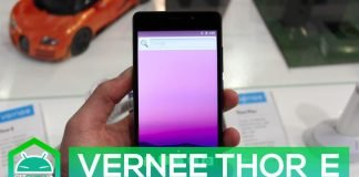 Vernee Thor e hands-on MWC 2017