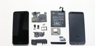 xiaomi mi 5c teardown
