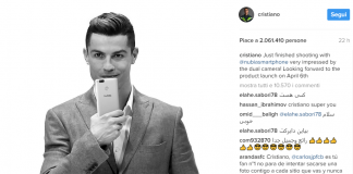 Cristiano Ronaldo nubia z17 mini