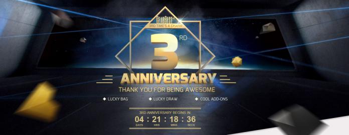 GearBest ofrece su tercer cumpleaños