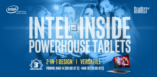 GearBest - Intel Inside Tablet promoción 2-in-1