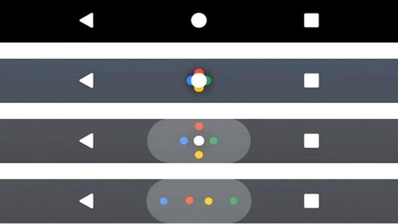 Barra de navegación de píxeles OnePlus 3 3T