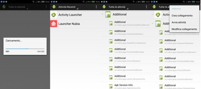 activity launcher secret menu
