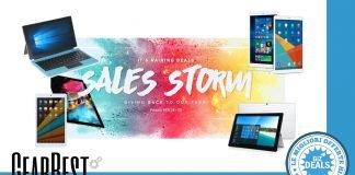 Ofertas GearBest - Teclast Sales Storm - Promoção - Códigos de Desconto