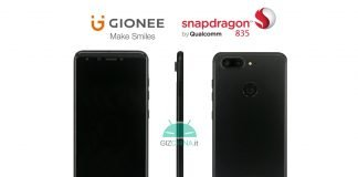 gionee s10 snapdragon 835