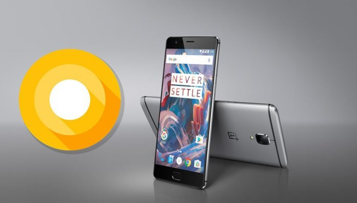 OnePlus 3/3T Android O