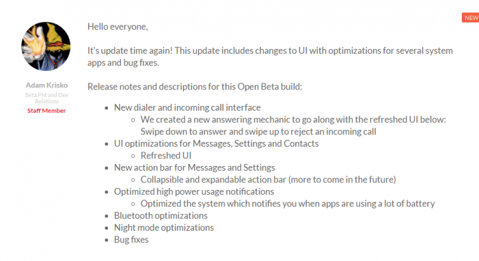 OnePlus 3T Open Beta 6