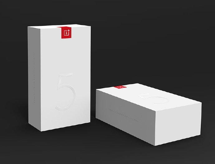 Embalagem OnePlus 5