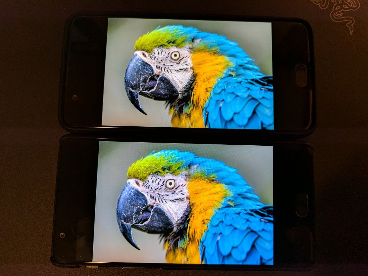 OnePlus 3T DCI-P3