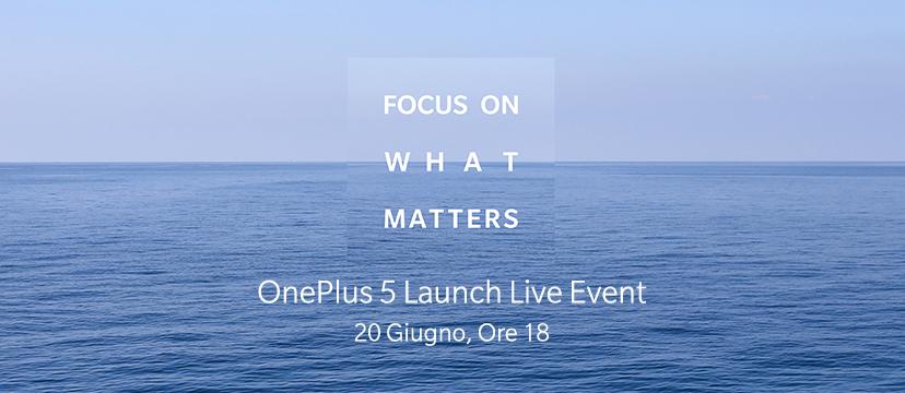 apresentação oficial do oneplus 5