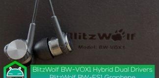 Review-blitzwolf-BW-VOX1-Hybrid-Dual-Drivers - & - blitzwolf-BW-ES1-El grafeno