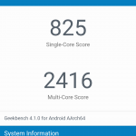 Xiaomi mi max 2 Geekbench