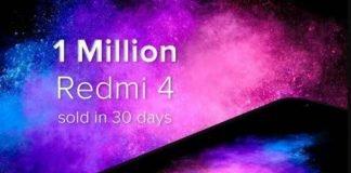 Xiaomi Redmi 4 recorde de vendas