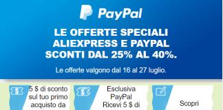 Acquistare con PayPal su AliExpress
