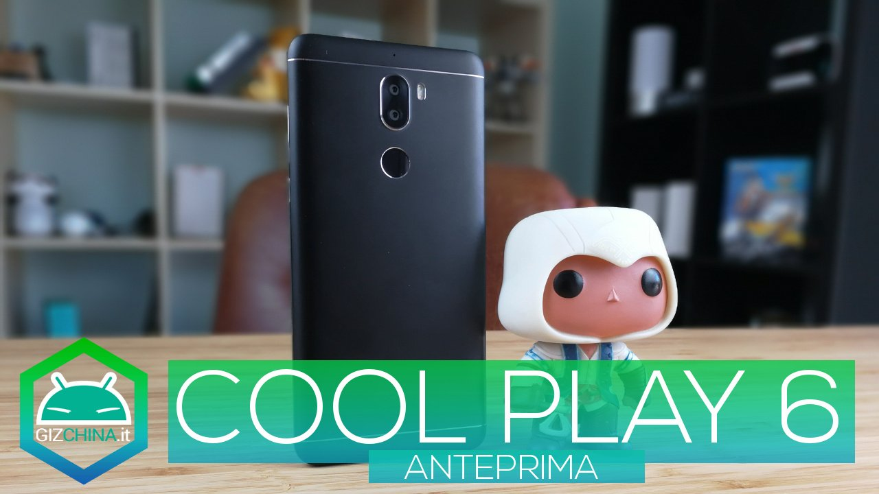 PREVIEW - Coolpad Cool Play 6, dual camera and 6 GB of RAM