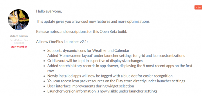 OnePlus 3 3T OxygenOS Open Beta 19 10