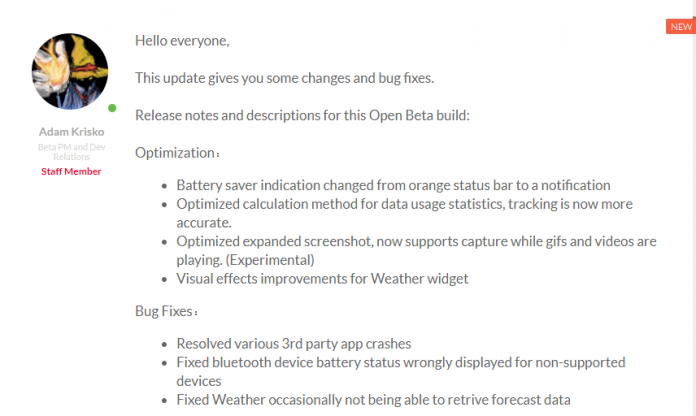 OnePlus 3 3T OxygenOS Abrir Beta 20 11