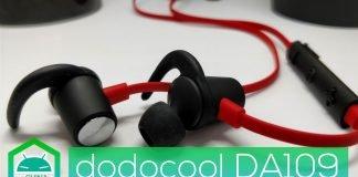 Review dodocool DA109 - Auscultadores Bluetooth para desporto