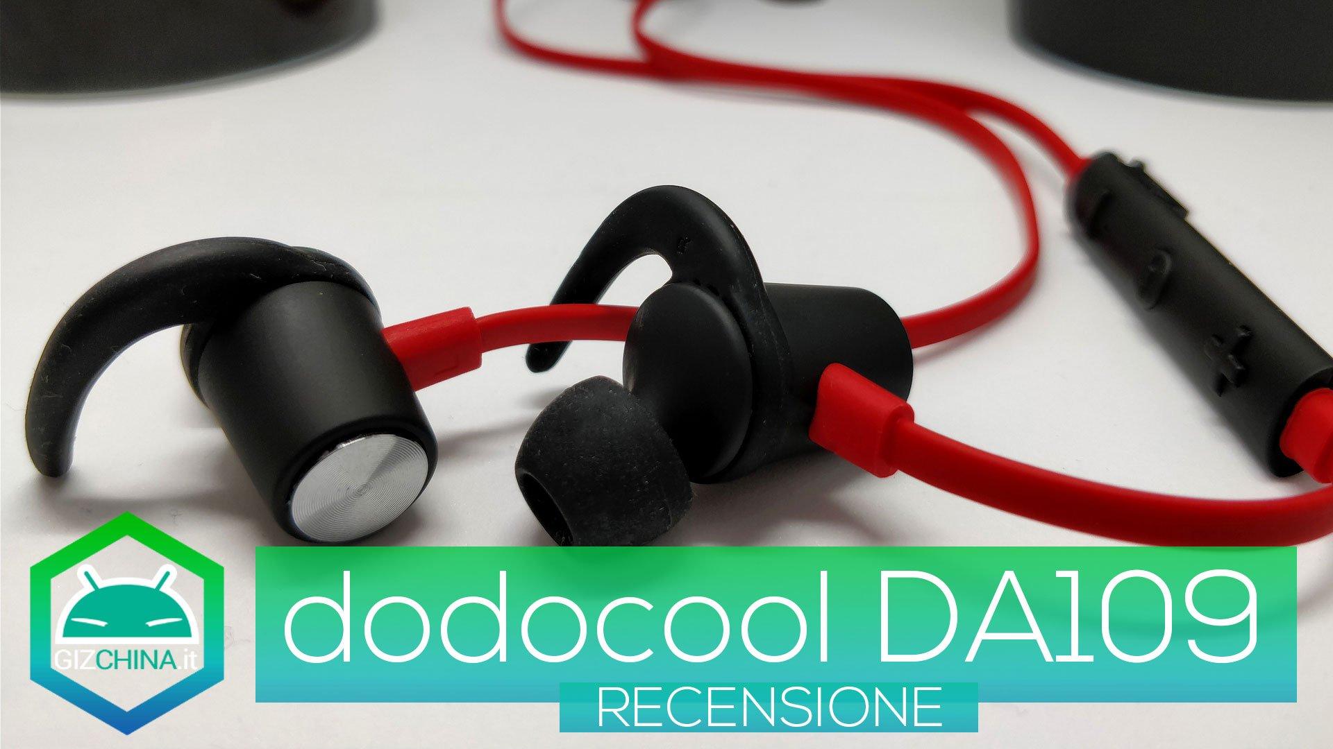 Recensione dodocool da109 cuffie bluetooth magneticheper lo sport - Cuffie per sport ...