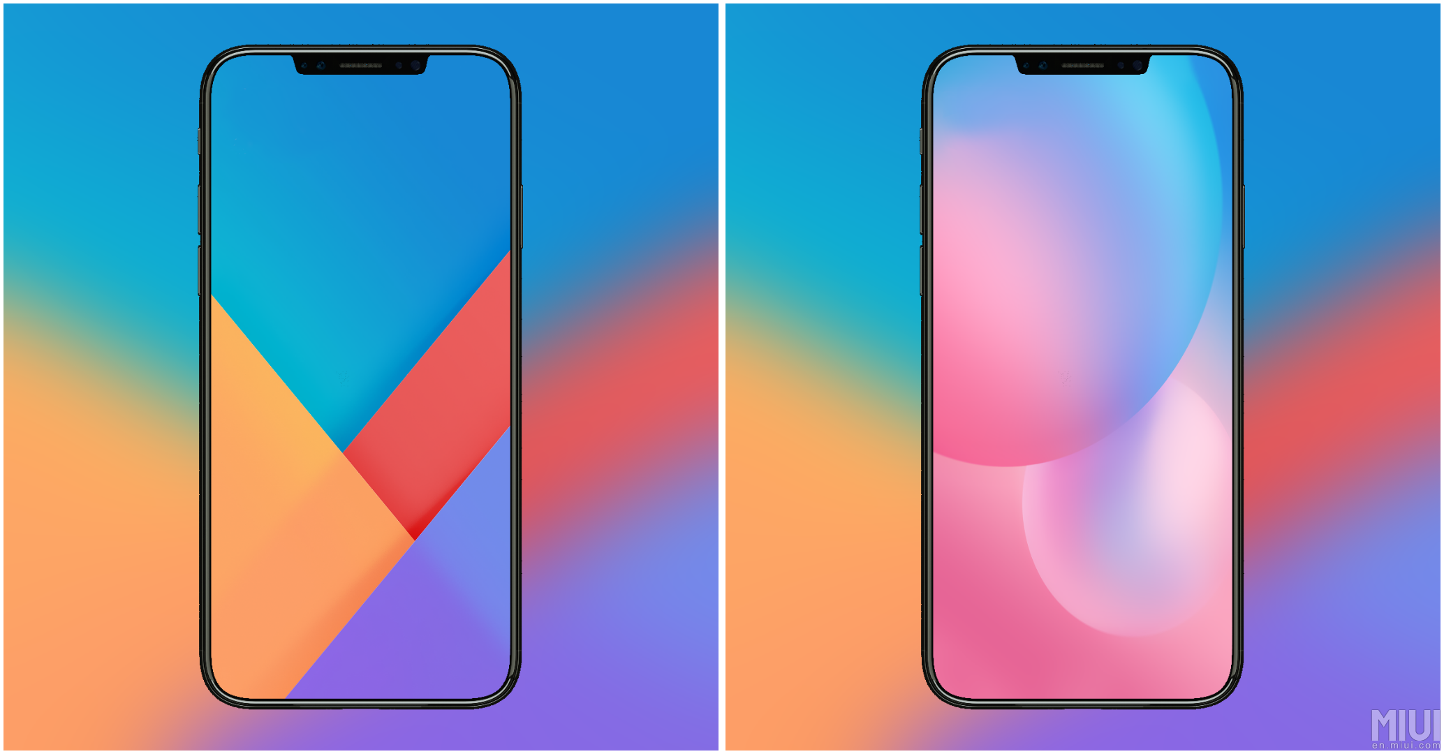 Ecco I Nuovi Wallpaper Della MIUI 9 E Xiaomi Mi 5X