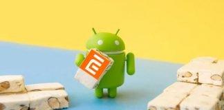 xiaomi smartphone nougat de atualização