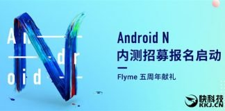 Android Nougat Meizu MX6
