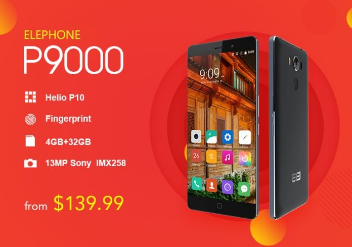 elePhone P9000 GearBest