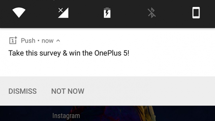 oneplus 5 - spam - push