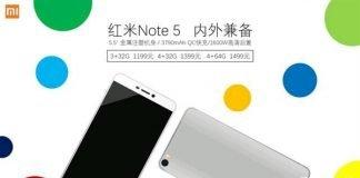 Xiaomi Redmi Note 5 Redmi 4s